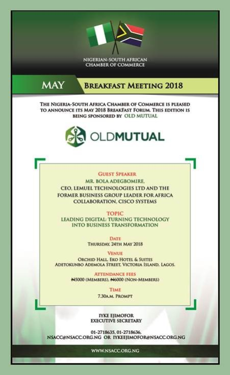 MAY 2018 NSACC BREAKFAST INVITE